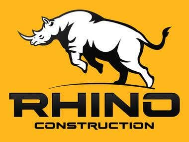 rhino construction - logo
