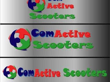Logo Design for ComActive Scooters contest