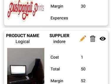 Expense calculator App