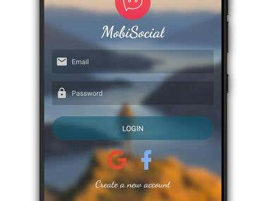 MobiSocial Android App