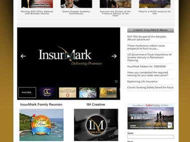 Insurmark - Wordpress Website