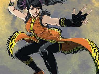 Ling Xiaoyu (Tekken Games) Fanart