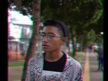 short visual effect video