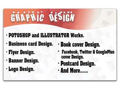 Create Any Kind Of Graphic Design With My Creativity