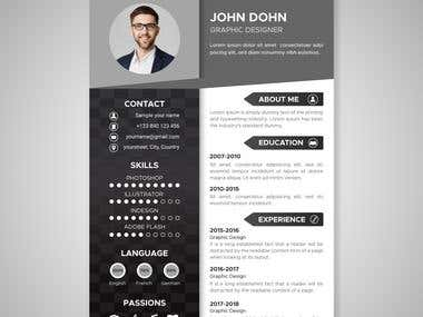 CV/ Resume Designs