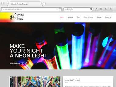 Web design and WordPress development