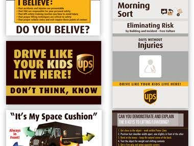 UPS Safety 24/7 Advertising Campaign