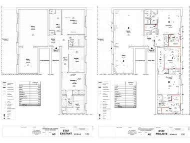 Electrical Plans for Apartement