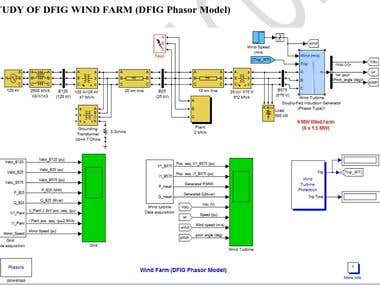 Recent Work related to DFIG-WT Using MATLAB