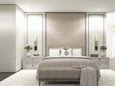 Interior design of a Two Storey Residential Builing