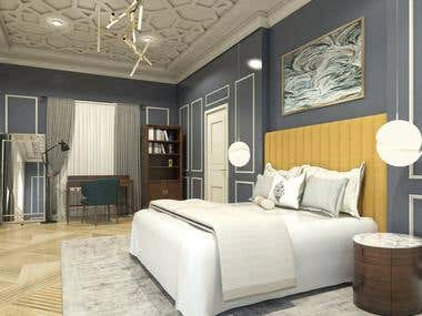 3D RENDERING AND BEDROOM DESIGNS - MIX PROJECTS