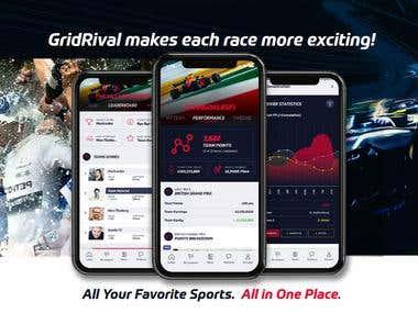GridRival Motosports App