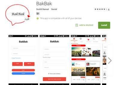 BakBak Mobile App
