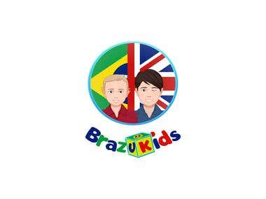 Logo for Brazukids