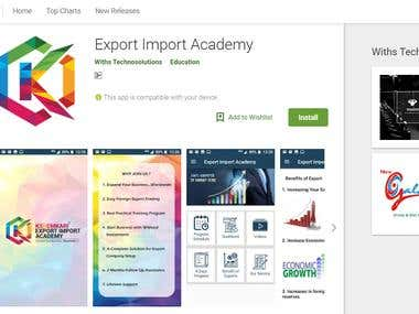 Business Applications on android platform:-
