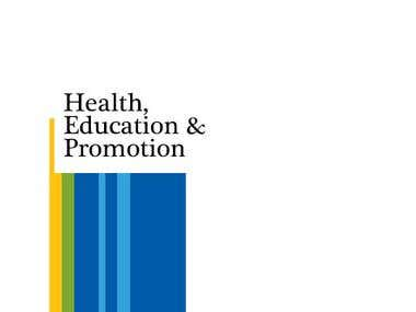 Health Education and Promotion Module