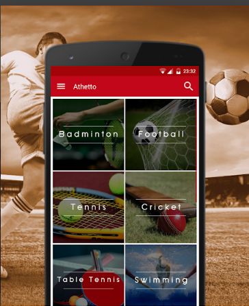 Search Book Play Sports nearby