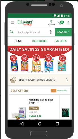 DMart Online Grocery Shopping - Mumbai & Thane