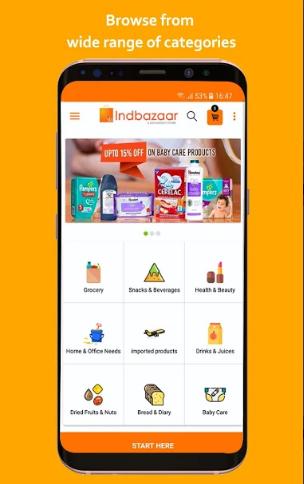 Indbazaar - Online grocery store
