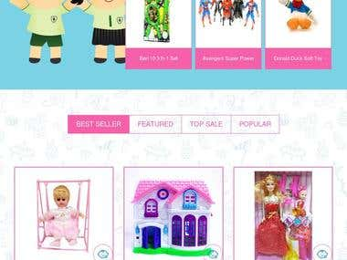 eCommerce for toys