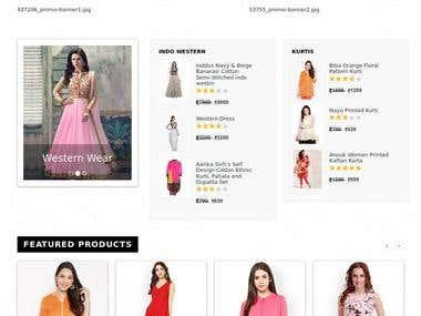 Garment eCommerce PHP MySql Solution