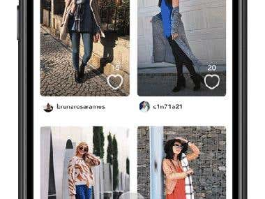 Shopping App UI/UX Design