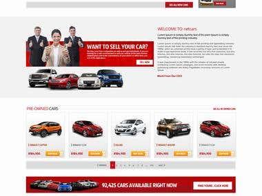 netcars homepage