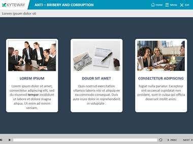 Anti-bribery and Corruption Course