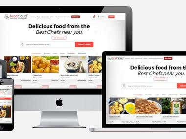 Opencart based Food Ordering website