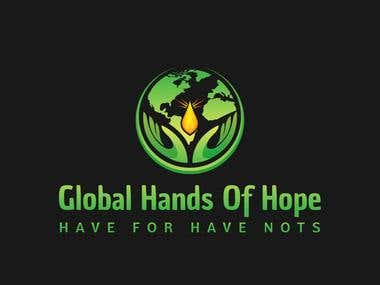 Global hands of hope