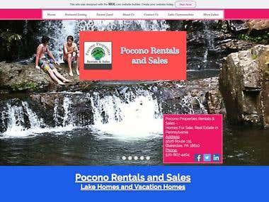 Pocono Rentals & Sales