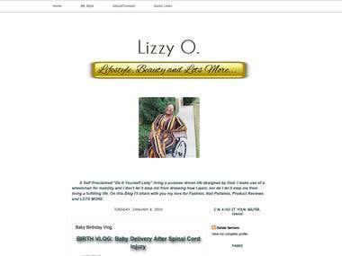 Lizzy O Blog