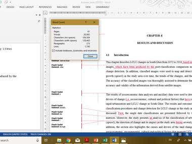 Proofreading & Editing PhD Dissertation in Engineering