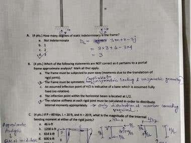 Theory of Structure Calculation