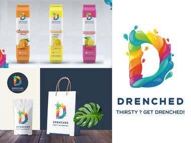 Logo Design - Drenched