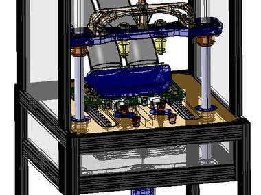 SINTERIZATION MACHINE - CATIA R5V21