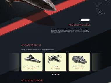 Byu a cheap spaceship!