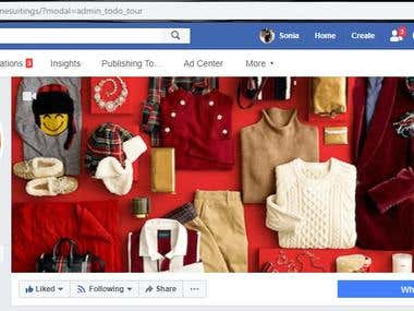 Facebook page creation , management and ads permotion