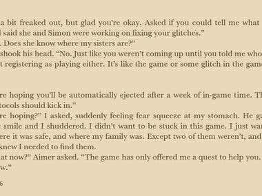 GameLit/LitRPG - Jessica's Challenge