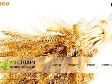 Trade Crops website