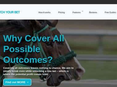 Membership betting website using Wordpress.