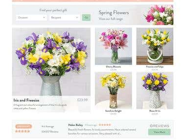 Flowers by post with free UK delivery | Bunches