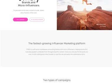 Influencer Marketing Platform For Brands & Agencies | TRIBE
