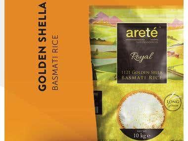 Arete - Rice Product Branding