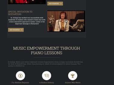 LMS Website