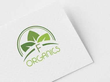 Logo for F Organics