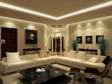Interior Design of Residence, San Bernardino, California