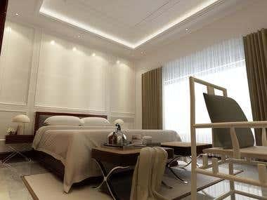 Bedroom Design of Residence, San Bernardino, California