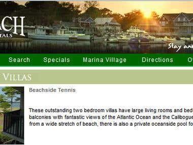 sbinn.com (Reservation system of villas)
