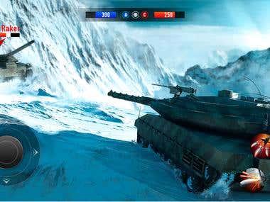 Unity Tank Game